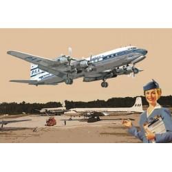 1:144 Douglas DC-7C (Bausatz)_46746