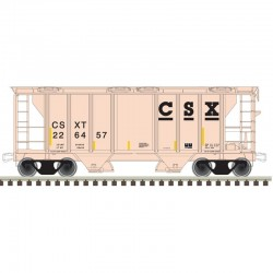 N PS-2 covered hopper CSX Nr 226457_47686