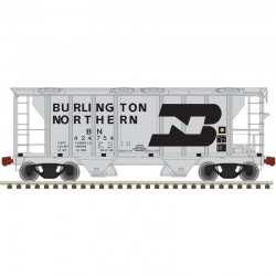 N PS-2 covered hopper Burlington Northern 424754_47700