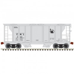 N PS-2 covered hopper Jersey Central Nr 830
