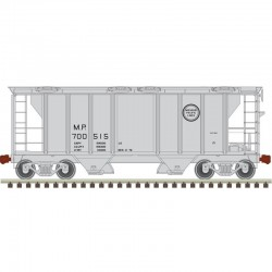 N PS-2 covered hopper Missouri Pacific 700515_47710