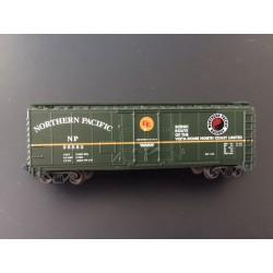 N 40' Plug Door Box Car Northern Pacific Nr 98583_48067