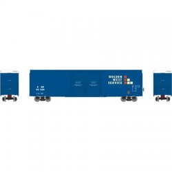 HO 60' FMC Double Box Car SSW/GWS Nr 62696_48081