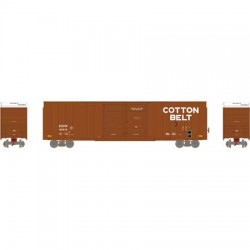 HO 60' FMC Double Box Car Cotton Belt Nr 62631_48089