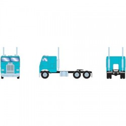 HO Freightliner Tractor Dual Axle teal - blaugrün_48120