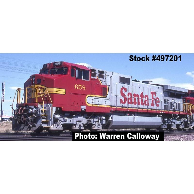 N Dash 9 C44-9W Santa Fe Nr 603 DC_48144
