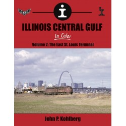 Illinois Central Gulf In Color Volume 2: The East