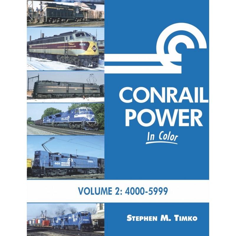 Conrail Power In Color Volume 2: 4000-5999_48241