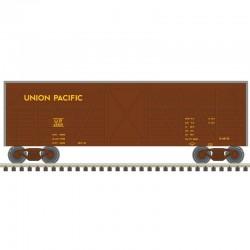 N 40' Stock Car Union Pacific (brown) Nr 48211D_48341