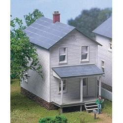 HO Railroad Street Company House 5.7 x 12.7 9.5cm_48638