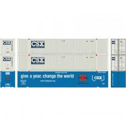 HO 53' Container CSX # 1 Set (3)_48798