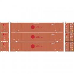 HO 53' Container CSX # 2 Set (3)_48800