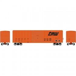 N 50' FMC 5347 sgl door Box Car TP&W_48816