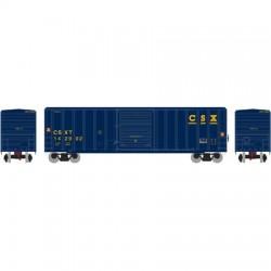 N 50' FMC 5347 sgl door Box Car CSX_48826