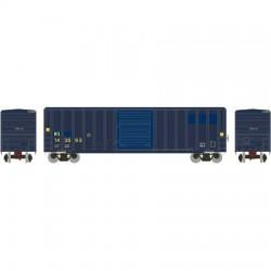 N 50' FMC 5347 sgl door Box Car H&S_48831