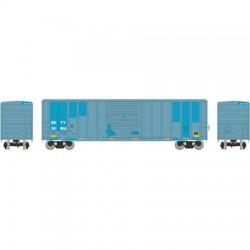 N 50' FMC 5347 sgl door Box Car UP_48843