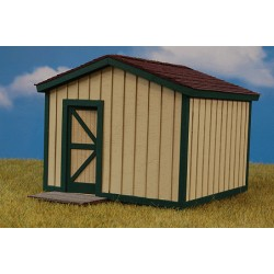 O Storage Shed - Kit (Laser-Cut Wood)_48989