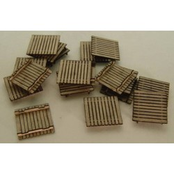 HO Pallets - Kit (Laser-Cut Wood)_48998