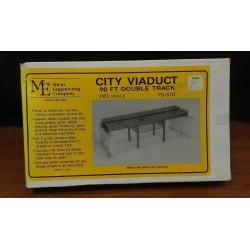 255-75-510 HO City Viaduct 90ft dbl track_49111