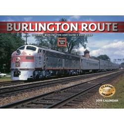 2019 Burlington Route Railroad Kalender_49181