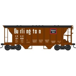 HO 70t 2 Bay Hopper Burlington CB&Q Nr 181699_49338