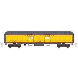 N 60' Harriman Arched-Roof Baggage-Express UP 1826_49386