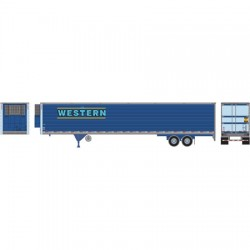HO 53' Reefer Trailer Western Distributing Nr 551_49639