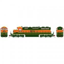 HO SD39 (DC) BNSF / GN Nr 1914_49716