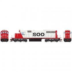 HO SD39 (DCC/Sound) SOO Line Nr 6241_49723