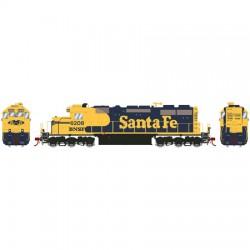 HO SD39 (DCC/Sound) Santa Fe Nr 6208_49748