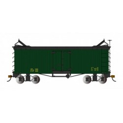 On30 Reefer data only, green - black roof_49863
