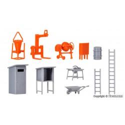 H0 Baustellenzubehör - Bausatz_49874