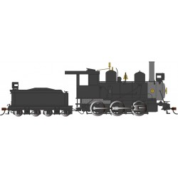 On30 0-6-0 Steam painted, unlettered, black_49897