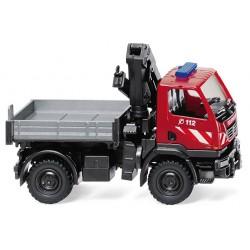 HO Feuerwehr - Unimog U 20 mit Ladekran_50327