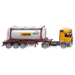 HO Tankcontainersattelzug Swap MB Actros Bertschi_50335