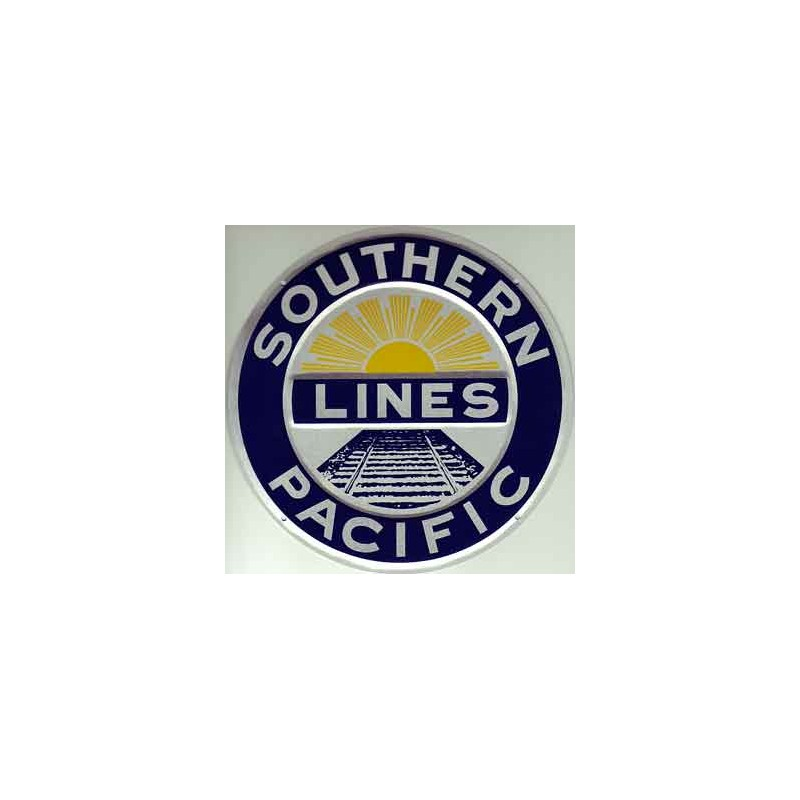 460-10005 Die-cast metal sign Southern Pacific_50339