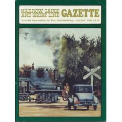 Narrow Gauge Gazette 1990 Heft 6 Nov/Dez_50594