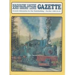 Narrow Gauge Gazette 1996 Heft 6 Nov/Dez_50600