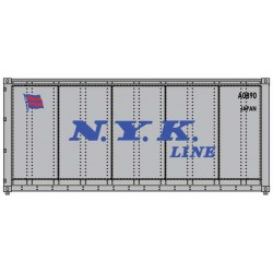 HO 20' smooth side Container NYK_50617