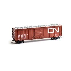 HO 50' ACF Outside Post Box Car CN Nr 418617_50866