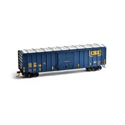 HO 50' ACF Outside Post Box Car CSX Nr 129928_50871