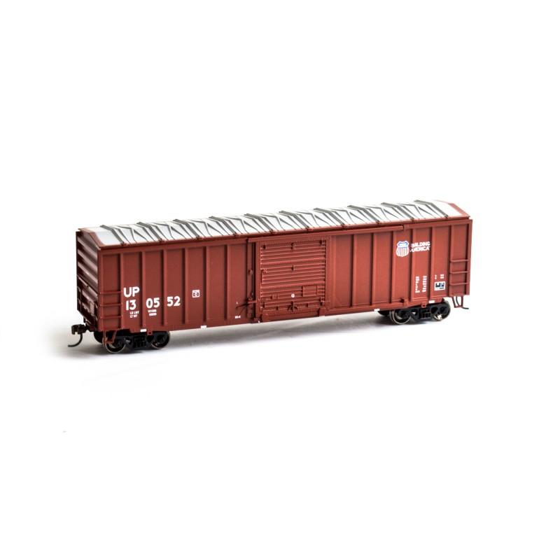 HO 50' ACF Outside Post Box Car UP Nr 130552_50885