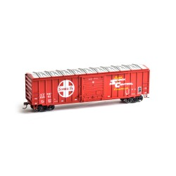 HO 50' ACF Outside Post Box Car Santa Fe 15689_50892