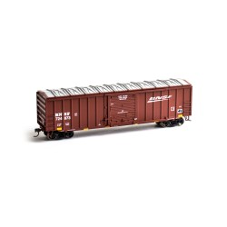 HO 50' ACF Outside Post Box Car BNSF 724873_50901