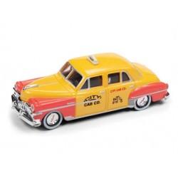 HO 1950 Chrysler DeSoto Sedan City Cab Co. (yellow_50999