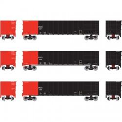 HO Thrall High Side Gondola PSCX Set 3 (3-pack)_51484