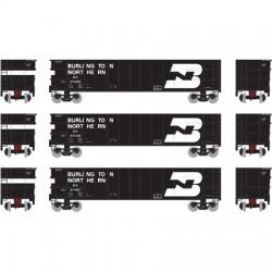 HO Thrall High Side Gondola BN Set 3 (3-pack)_51496