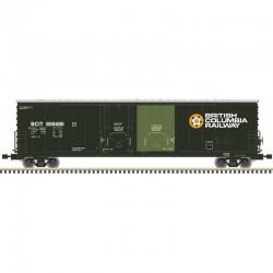 HO Evans dbl plug door box car BC Railway 800505_51602