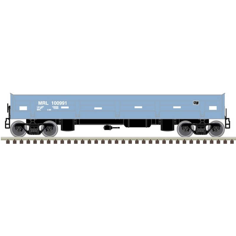 N DIFCO Side Dum Car Montana Rail Link 100991_51862