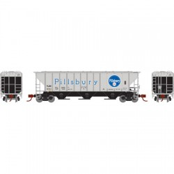 N PS 4427 Covered Hopper Pillsbury 6780_52034